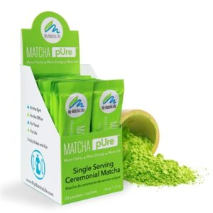 Matcha Single Packets Ceremonial Grade 24 pk